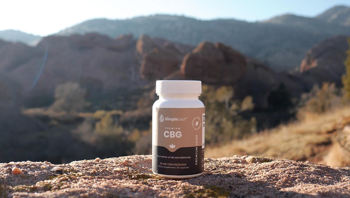 buy cbg, cannabigerol. best cbg, simpleleaf