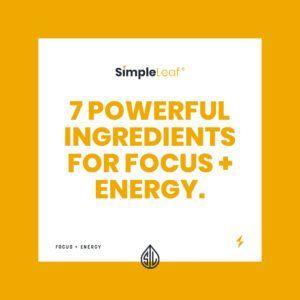 focus and energy cbd capsules, natural focus pill