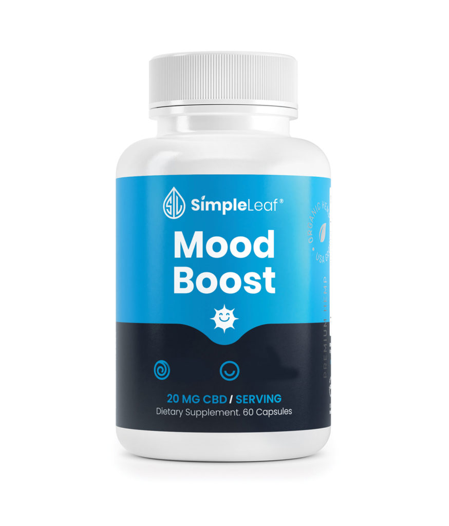 cbd capsules, mood boost cbd pills, organic cbd, stress vitamin, natural happy pill