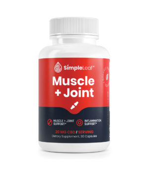 cbd capsules, muscle and joint cbd capsules