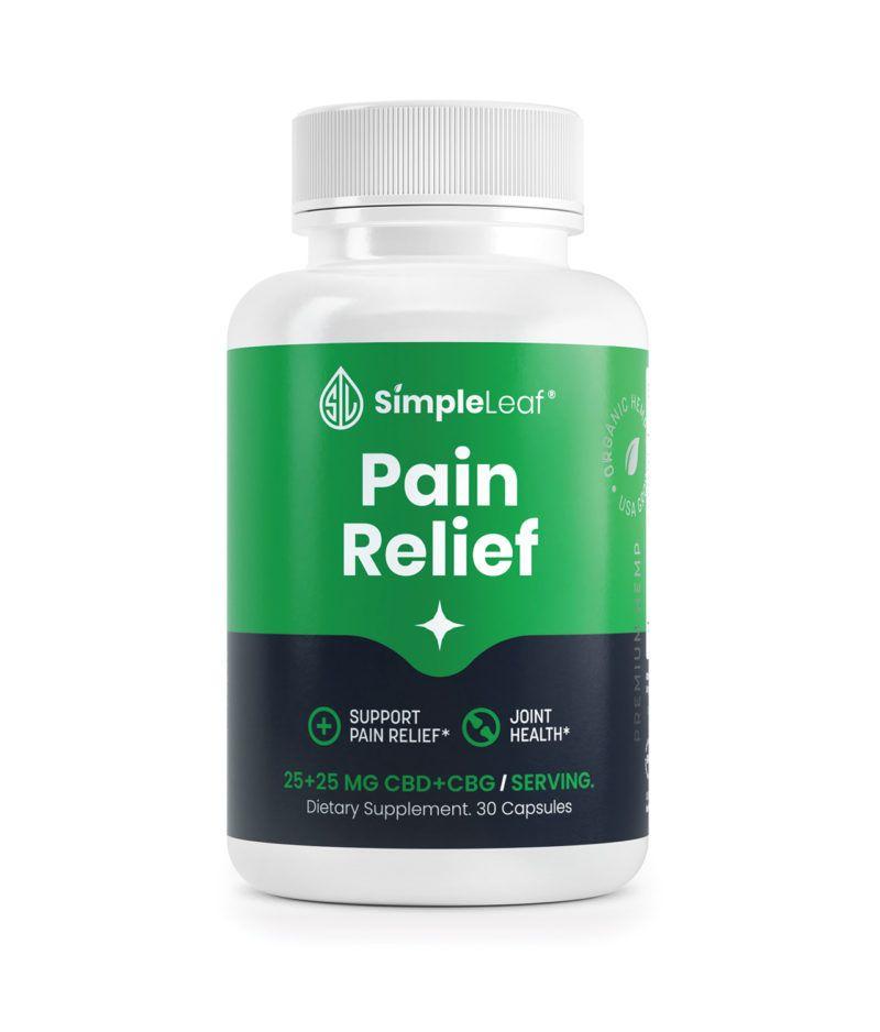 cbd capsules, natural pain pill