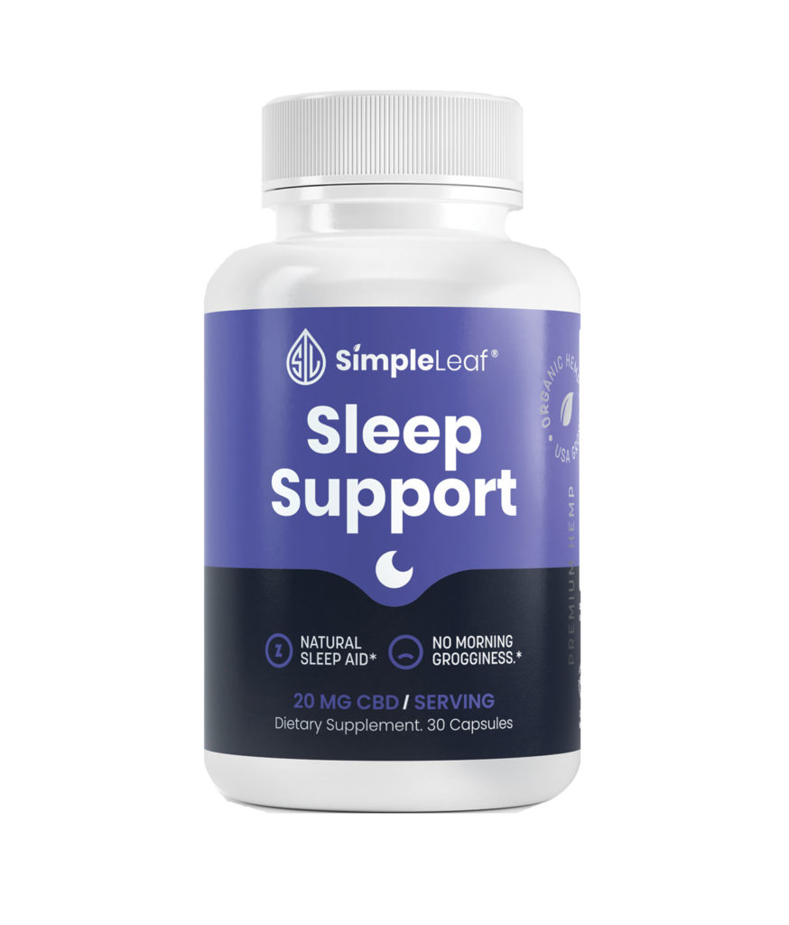 cbd capsules, sleep support cbd capsules