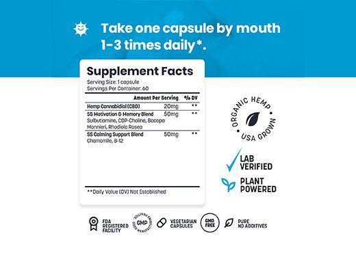 cbd Mood boost capsules, Mood boost vitamins