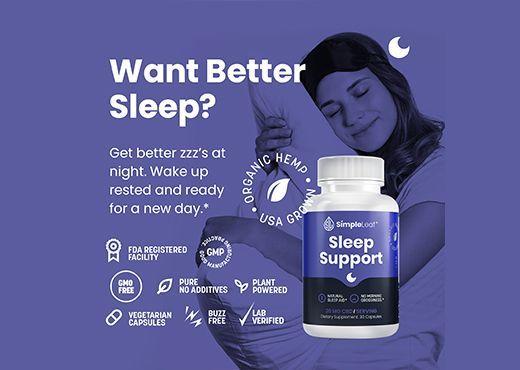 cbd sleep support