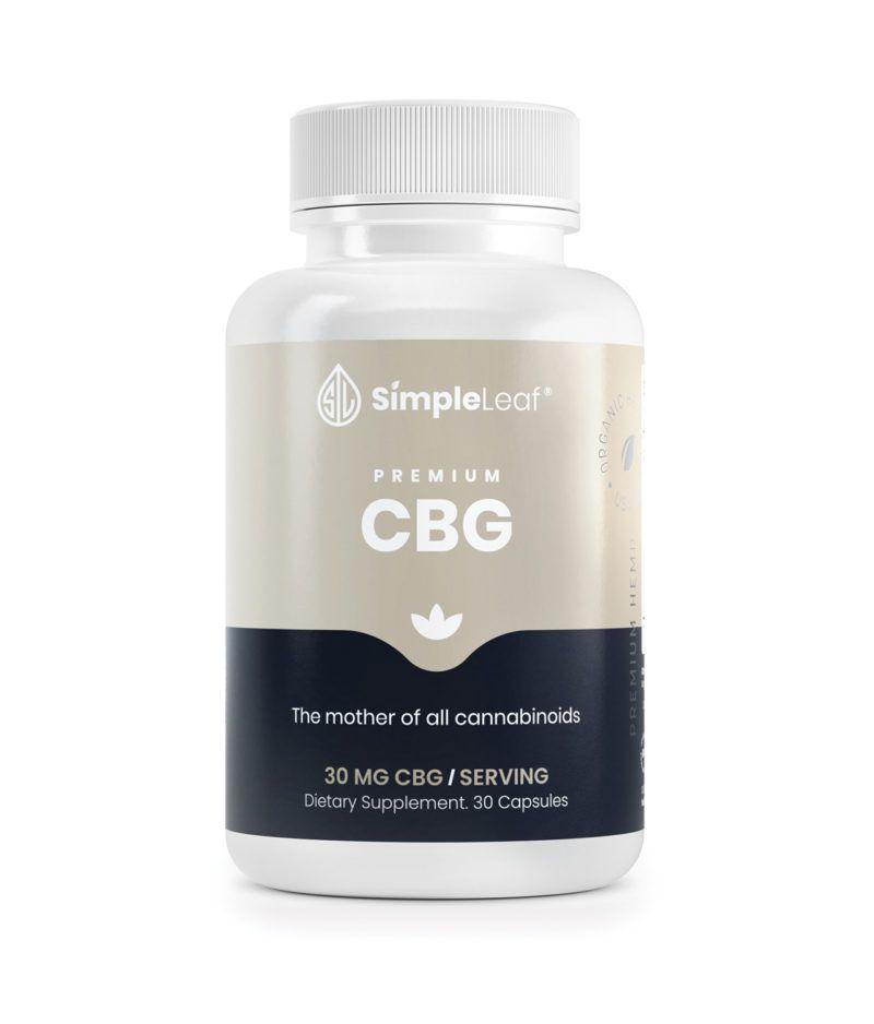 organic cbg, cbg capsules