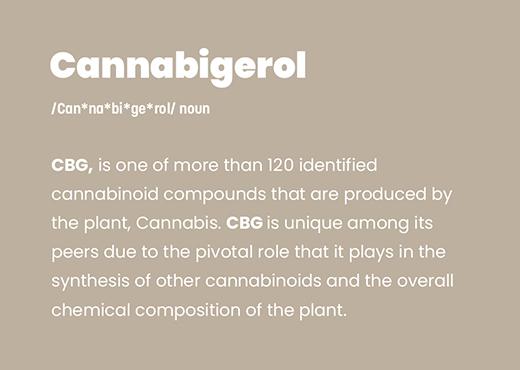 cannabigerol, cbg, simpleleaf