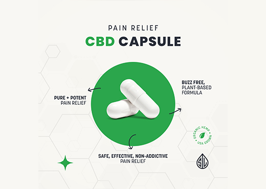 natural pain relief, cbg for pain, cbd for pain, cbd capsule, cbg capsule