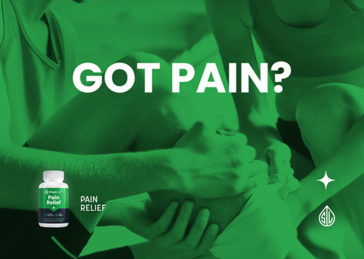 plant powered pain relief, natural pain relief, cbd capsules