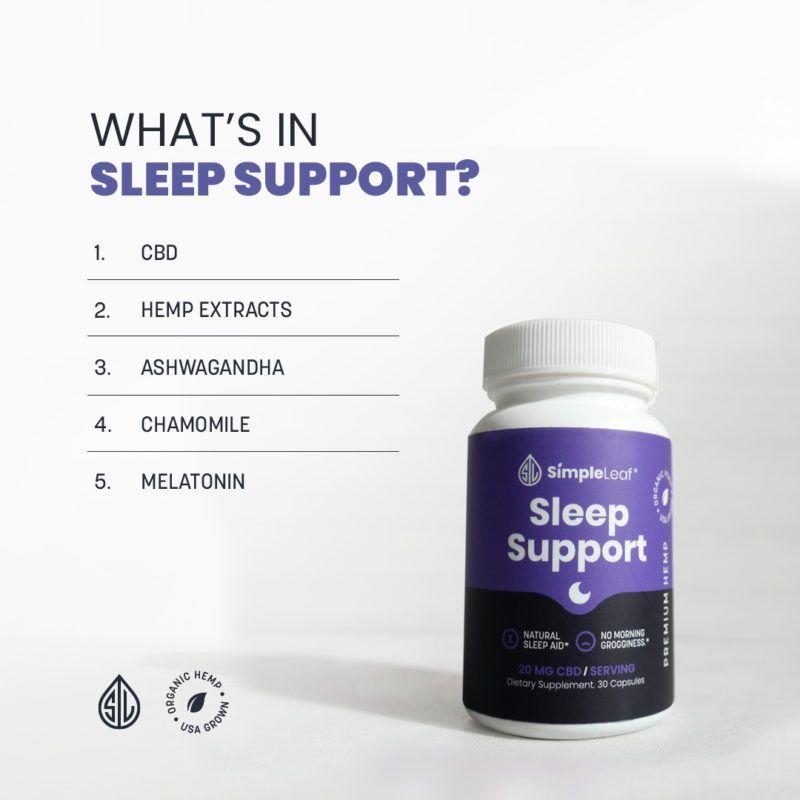 natural sleep aid, organic cbd, best cbd capsules