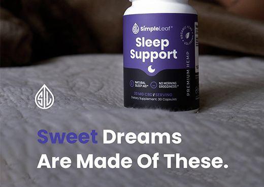 natural sleep aid, plant based sleep pills, cbd capsules