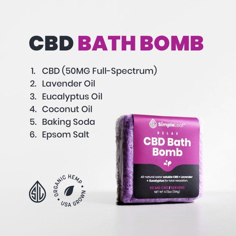 the best cbd bath bomb