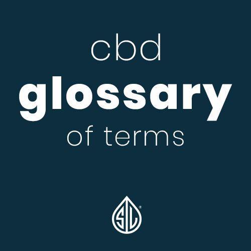 CBD Glossary, CBD Dictionary