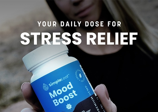 natural stress relief, cbd mood boost, organic cbd capsules