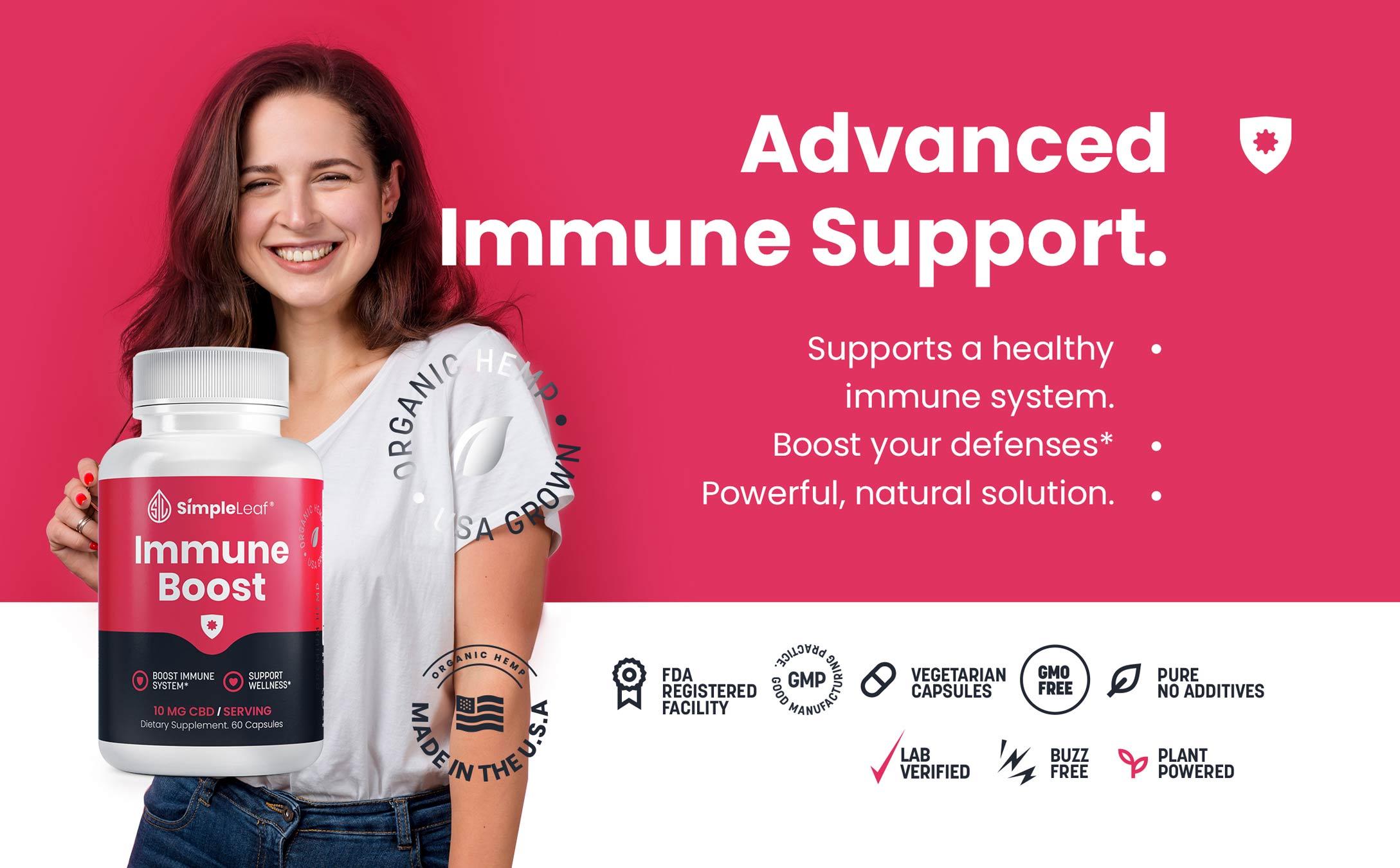 natural immune supplement, plant based immune supplement, organic immune supplement