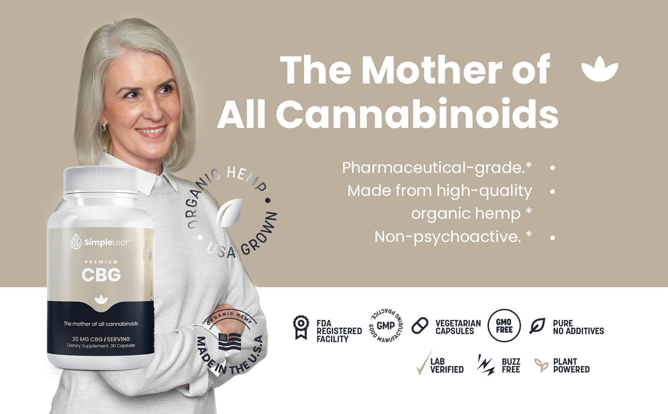 cbg, organic cbg, premium cbg, cannabigerol