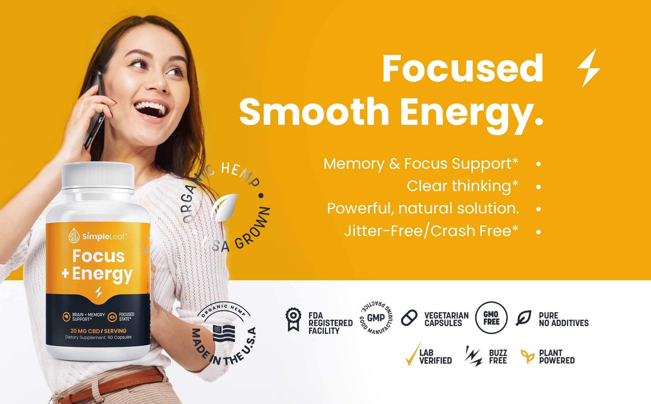cbd focus energy pills, focus and energy capsules, focus and energy supplements, natural focus pill