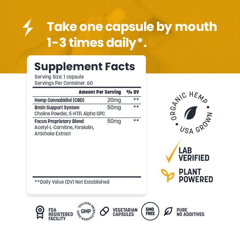 cbd pills for focus