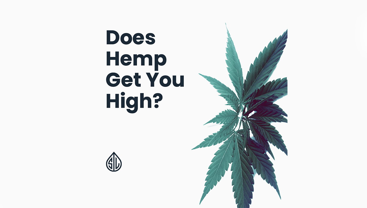 does hemp get you high
